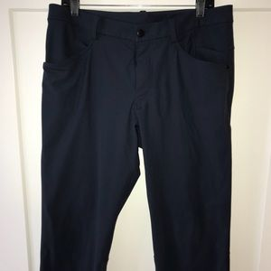lululemon athletica Men's ABC Pants, S 36, Blue